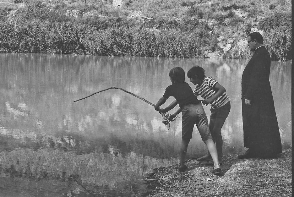 Felice e il lago